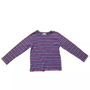 Cotton Striped People Long Sleeve Top 998